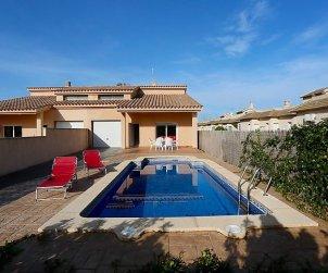 Villa   à Deltebre  -  Riumar pour 8 personnes avec piscine privée p0