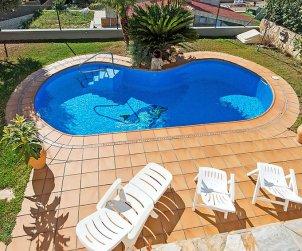 Villa   à Segur de Calafell pour 8 personnes avec piscine privée p1