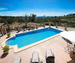 Villa   à Benissa pour 8 personnes avec piscine privée p2