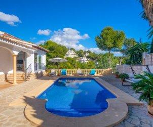 Villa   à Moraira pour 5 personnes avec piscine privée p0