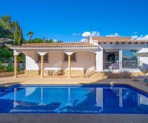 Villa   à Moraira pour 5 personnes avec piscine privée p1