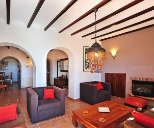 Villa   à Moraira pour 6 personnes avec piscine privée p2