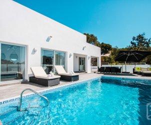 Villa  moderne à Calpe pour 6 personnes avec piscine privée et vue mer p0