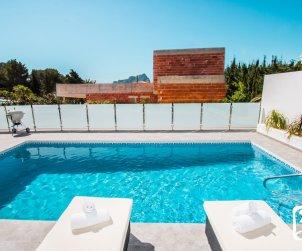 Villa  moderne à Calpe pour 6 personnes avec piscine privée et vue mer p2