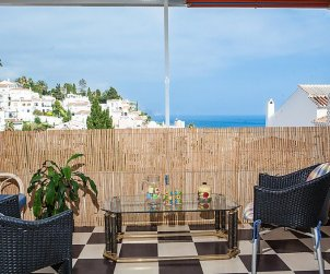 Flat   Nerja 3 persons - panoramic to the sea p0
