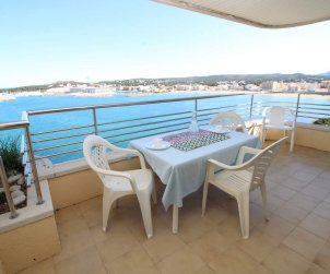 Appartement   à L'Escala pour 4 personnes avec piscine commune et vue mer p1