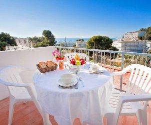 Appartement   à Rosas pour 4 personnes avec belle vue mer p0