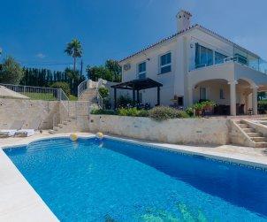 Villa   à Marbella pour 10 personnes avec vue exceptionnelle p0