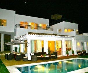 Villa   à Marbella pour 10 personnes avec belle vue mer p1
