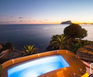 Villa   à Moraira pour 6 personnes avec piscine privée, climatisation et belle vue mer p0