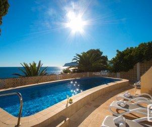 Villa   à Moraira pour 6 personnes avec piscine privée, climatisation et belle vue mer p1