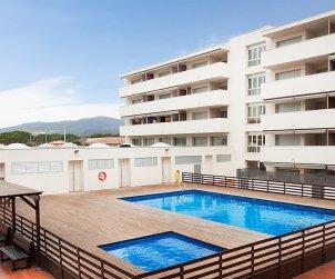 Appartement   à St Antoni de Calonge pour 6 personnes avec piscine commune p0