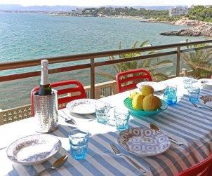 Appartement   à Salou pour 6 personnes avec belle vue mer p0