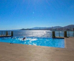 Appartement   à Benidorm pour 4 personnes avec piscine commune p0