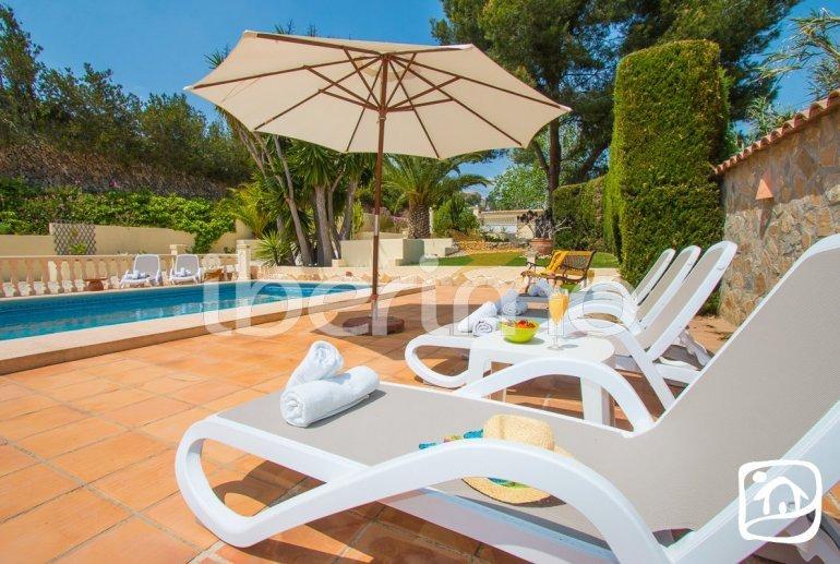 Villa   à Moraira pour 6 personnes avec piscine privée, climatisation et proche mer p1