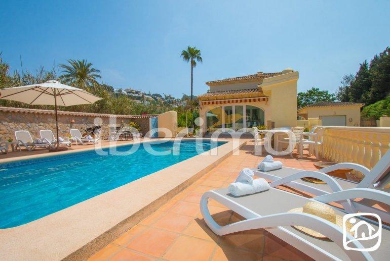 Villa   à Moraira pour 6 personnes avec piscine privée, climatisation et proche mer p3