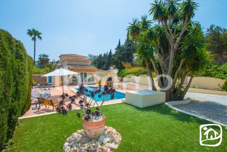 Villa   à Moraira pour 6 personnes avec piscine privée, climatisation et proche mer p5