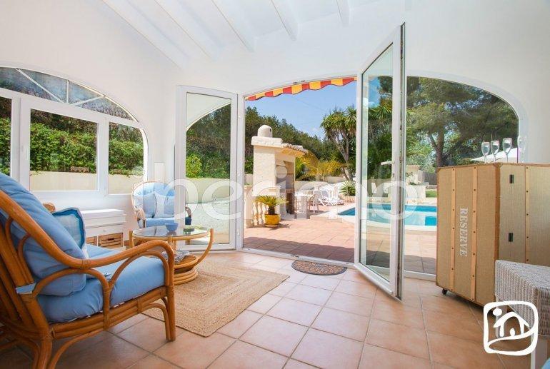 Villa   à Moraira pour 6 personnes avec piscine privée, climatisation et proche mer p12