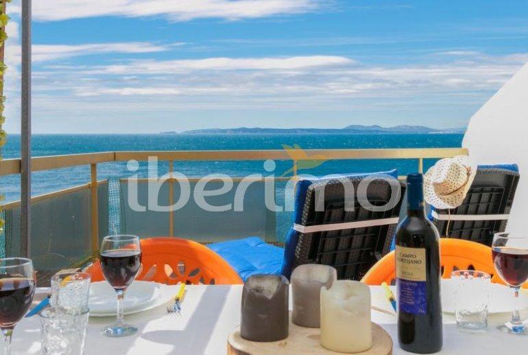 Appartement   à Rosas pour 3 personnes avec belle vue mer p0
