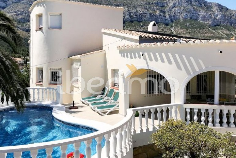 Maison  à Denia pour 6 personnes avec piscine privée p1