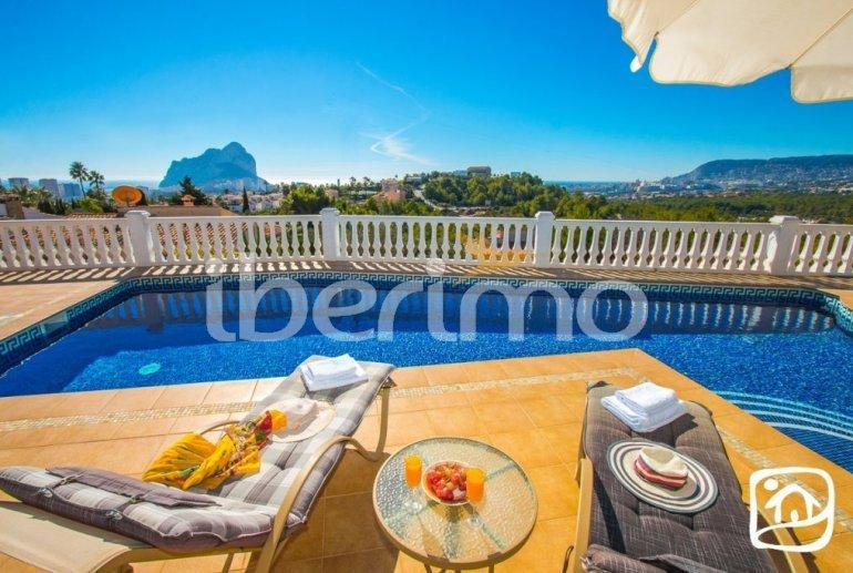 Villa   à Calpe pour 6 personnes avec piscine privée, vue mer et climatisation p2
