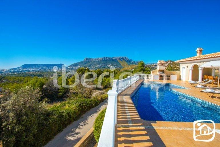 Villa   à Calpe pour 6 personnes avec piscine privée, vue mer et climatisation p3