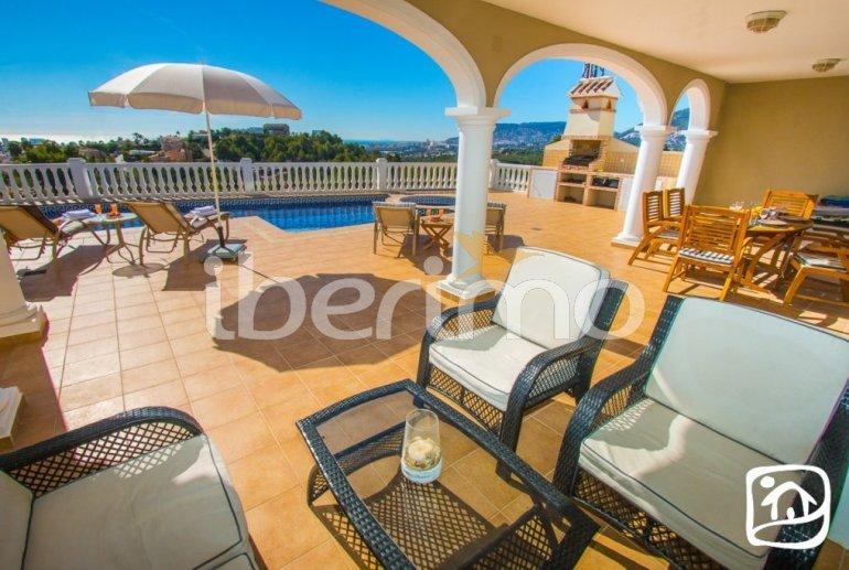 Villa   à Calpe pour 6 personnes avec piscine privée, vue mer et climatisation p6