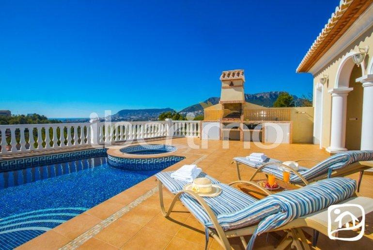 Villa   à Calpe pour 6 personnes avec piscine privée, vue mer et climatisation p4