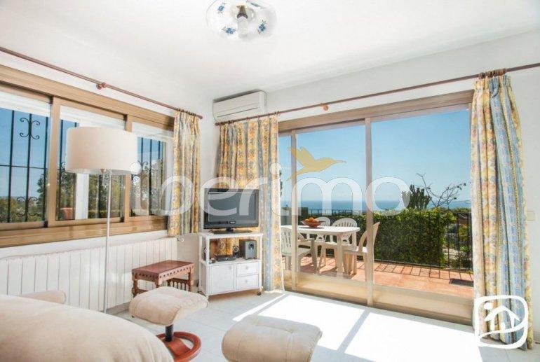 Villa   à Benissa pour 10 personnes avec piscine privée couverte, solarium et belle vue mer p11