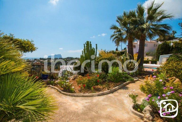 Villa   à Benissa pour 10 personnes avec piscine privée couverte, solarium et belle vue mer p15