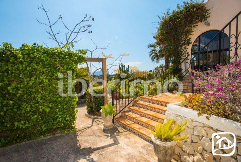 Villa   à Benissa pour 10 personnes avec piscine privée couverte, solarium et belle vue mer p17