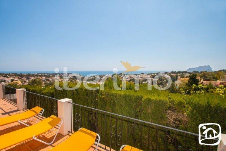 Villa   à Benissa pour 10 personnes avec piscine privée couverte, solarium et belle vue mer p13