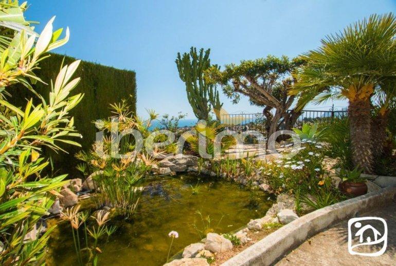 Villa   à Benissa pour 10 personnes avec piscine privée couverte, solarium et belle vue mer p16