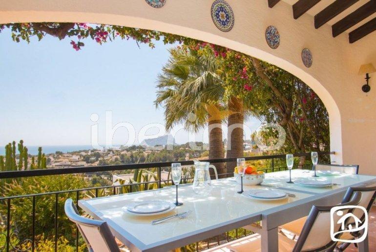 Villa   à Benissa pour 10 personnes avec piscine privée couverte, solarium et belle vue mer p3