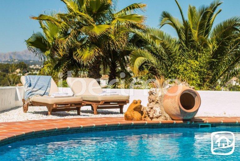 Villa   à Moraira pour 8 personnes de style ibiza avec piscine privée et climatisation p34