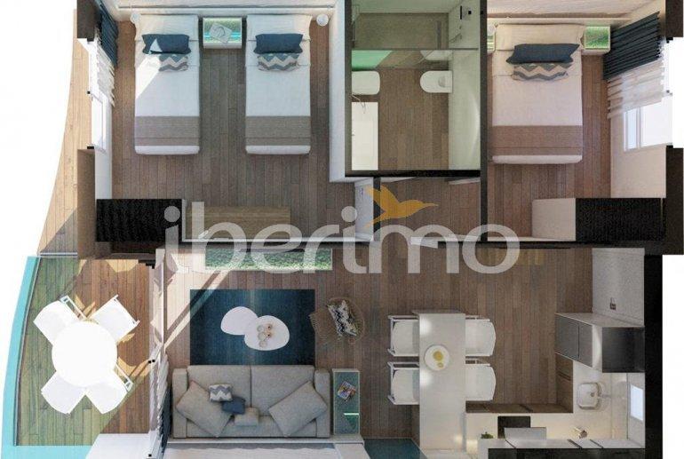 Appartement à Alcossebre pour 5 personnes dans complexe hôtelier avec piscine commune et vue latérale mer p17