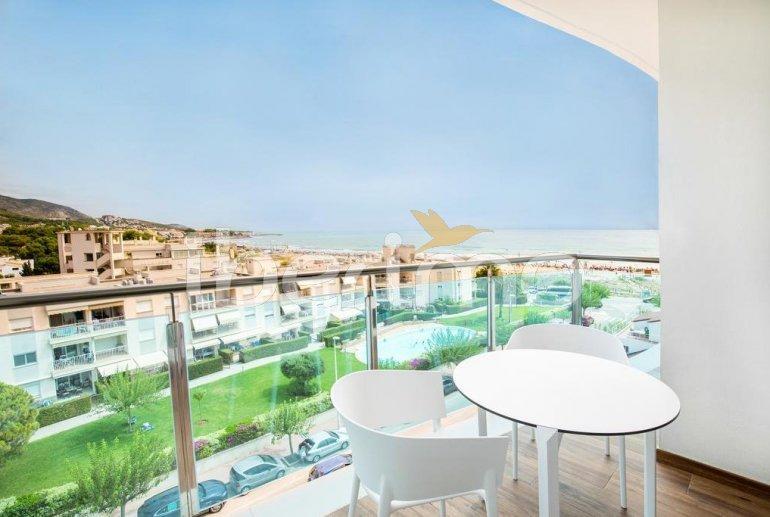 Appartement à Alcossebre pour 5 personnes dans complexe hôtelier avec piscine commune et vue latérale mer p5