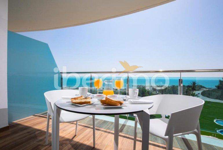 Appartement à Alcossebre pour 5 personnes dans complexe hôtelier avec piscine commune et vue frontale mer p0