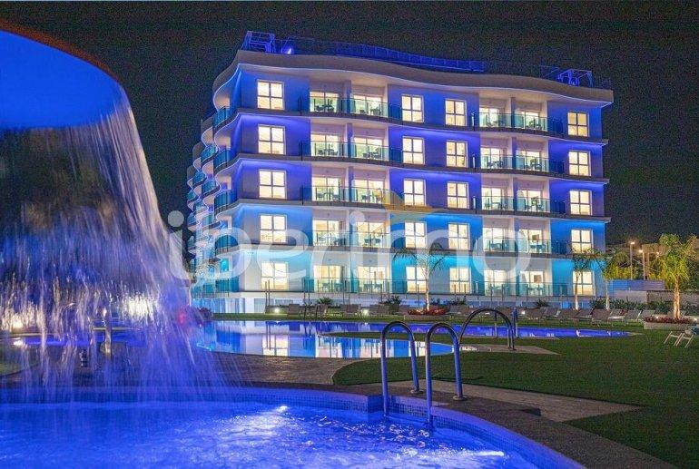 Appartement familial à Alcossebre pour 5 personnes dans complexe hôtelier avec piscine commune et vue directe mer p3