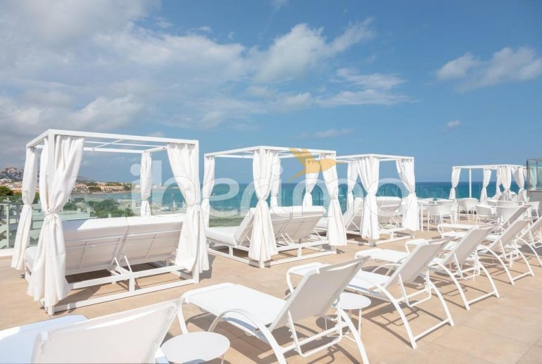 Appartement familial à Alcossebre pour 5 personnes dans complexe hôtelier avec piscine commune et vue directe mer p18