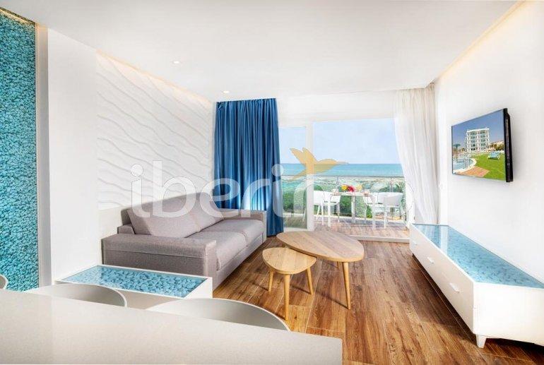 Appartement familial à Alcossebre pour 5 personnes dans complexe hôtelier avec piscine commune et vue directe mer p7