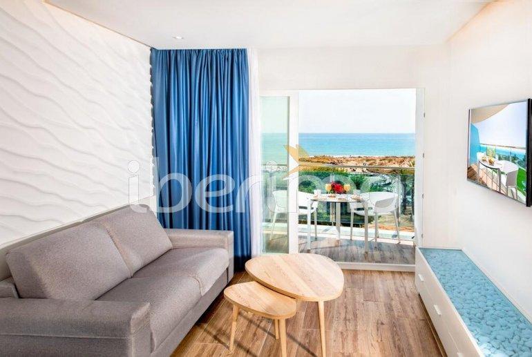 Appartement familial à Alcossebre pour 5 personnes dans complexe hôtelier avec piscine commune et vue directe mer p6