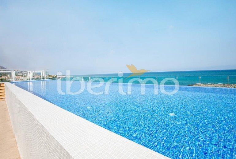 Appartement familial à Alcossebre pour 5 personnes dans complexe hôtelier avec piscine commune et vue directe mer p1