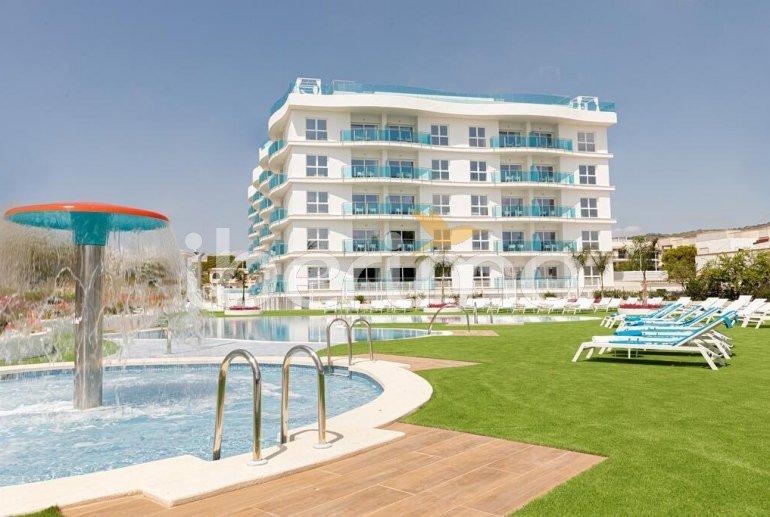 Appartement familial à Alcossebre pour 5 personnes dans complexe hôtelier avec piscine commune et vue directe mer p5