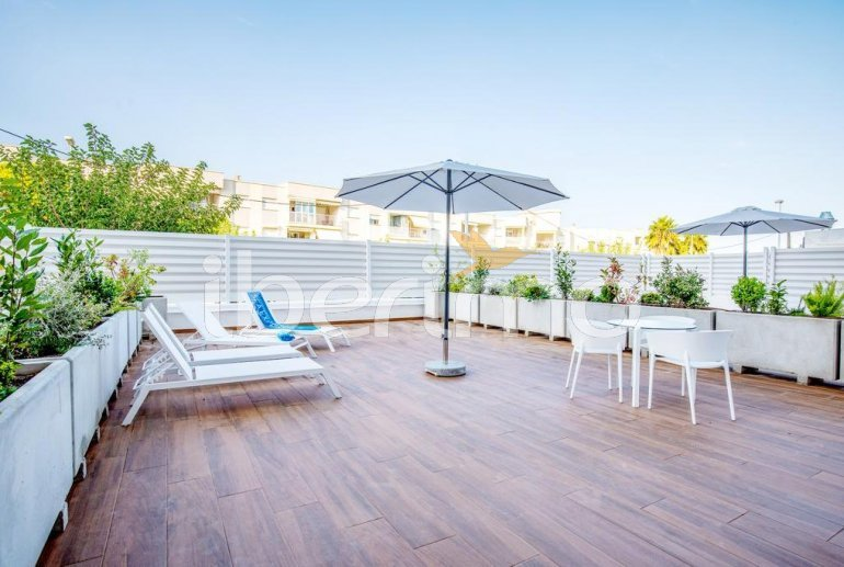 Appartement à Alcossebre pour 5 personnes dans complexe hôtelier avec piscine commune, grande terrasse en front de mer p1