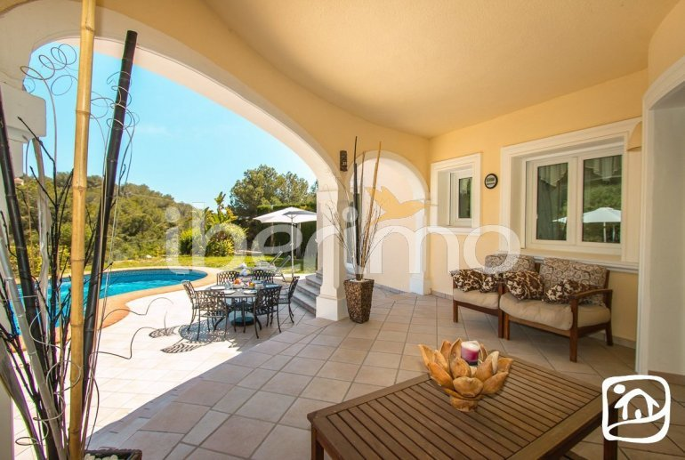 Villa   à Benissa pour 6 personnes avec piscine privée et climatisation p11