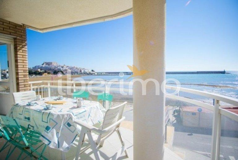 Appartement   à Peniscola pour 8 personnes avec piscine commune et belle vue mer p0