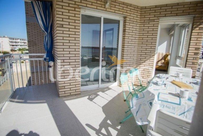 Appartement   à Peniscola pour 8 personnes avec piscine commune et belle vue mer p1