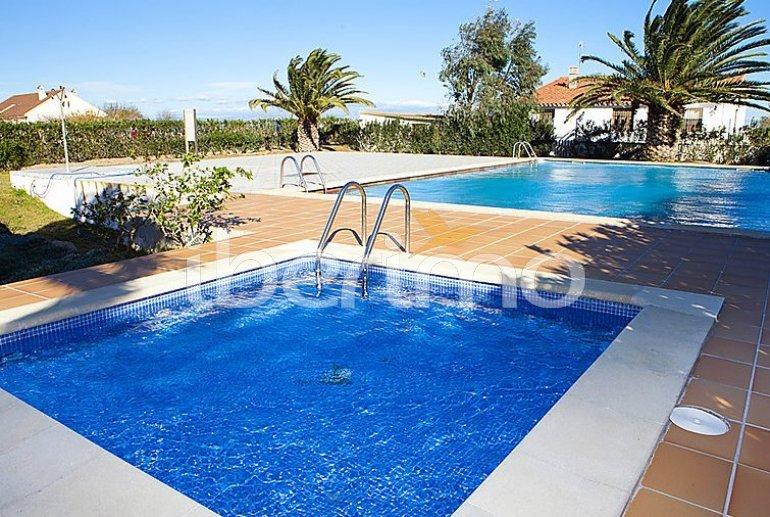 Appartement   à Deltebre  -  Riumar pour 3 personnes avec piscine commune p1