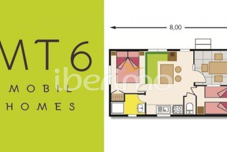 Camping Mobil-home   à Platja d'Aro pour 3 personnes avec piscine commune p12